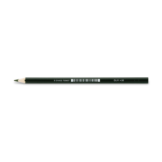 Jolly Superstick Colored Pencil - 3.8 mm Core - Olive