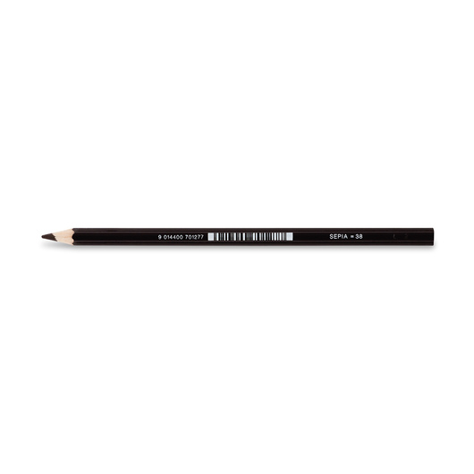 Jolly Superstick Colored Pencil - 3.8 mm Core - Sepia