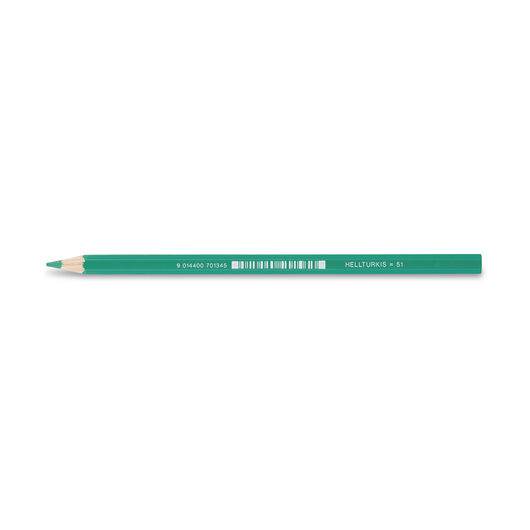 Jolly Superstick Colored Pencil - 3.8 mm Core - Pale Turquoise