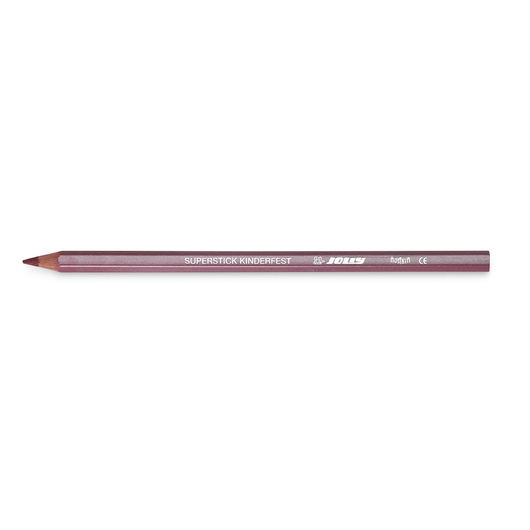 Jolly Superstick Colored Pencil - 3.8 mm Core - Metallic Red