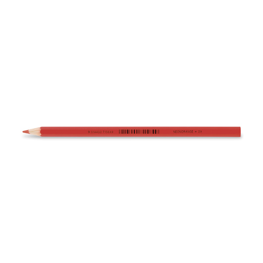Jolly Superstick Colored Pencil - 3.8 mm Core - Neon Orange