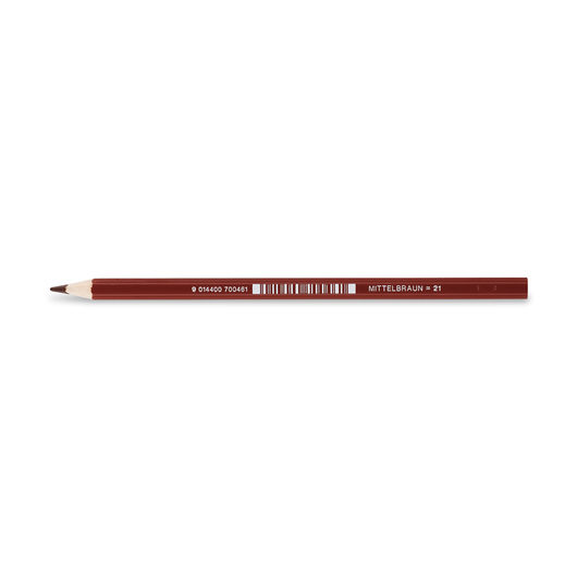 Jolly Superstick Colored Pencil - 3.8 mm Core - Medium Brown