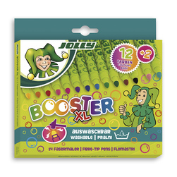 Jolly Booster XL Washable Markers - Set of 14