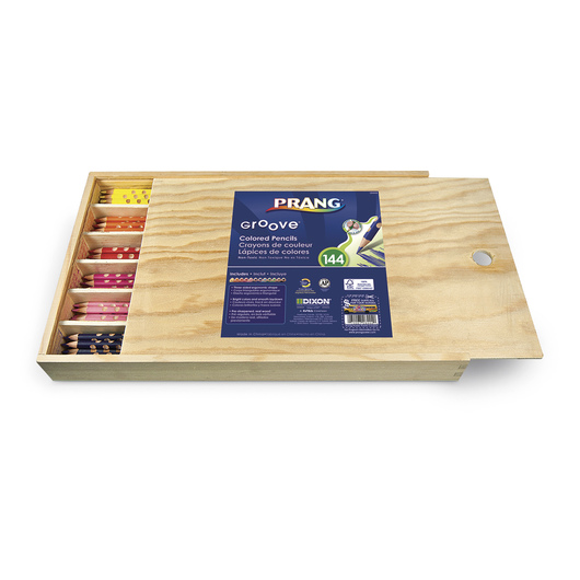 PRANG® Groove® Colored Pencils - Set of 144