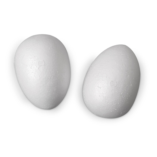 Smoothfoam™ Crafter's 4 in. Foam Eggs, Qty. of 2