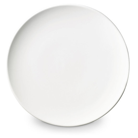 Duncan® Oh Four™ Bisque Coupe Salad Plate - 11 in. x 11 in. x 1-1/2 in.
