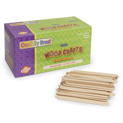 Pacon® Creativity Street® Regular-Grade Craft Sticks