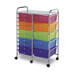 Alvin® Blue Hills Studio™ 15-Drawer Storage Cart