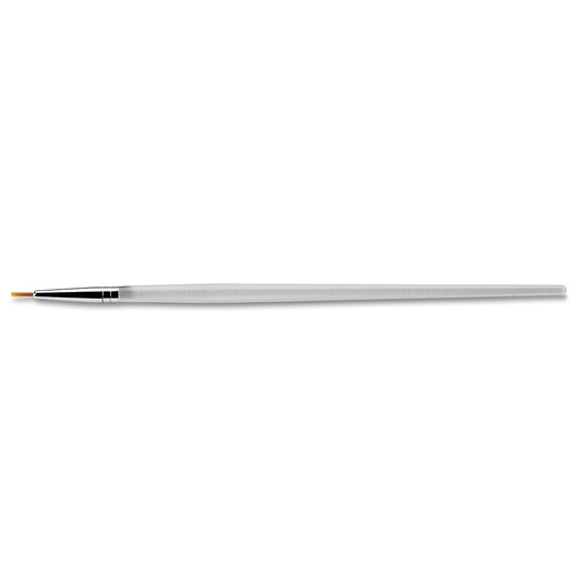 Royal Brush® Clear Choice Golden Taklon Brush with Standard Handle - Round Size 3/0