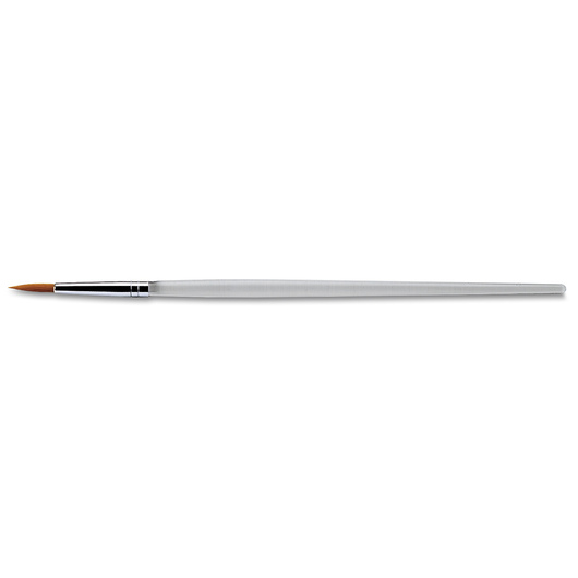 Royal Brush® Clear Choice Golden Taklon Brush with Standard Handle - Round Size 5