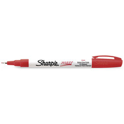 Sharpie® X-Fine Point Oil-Based Paint Markers - Red