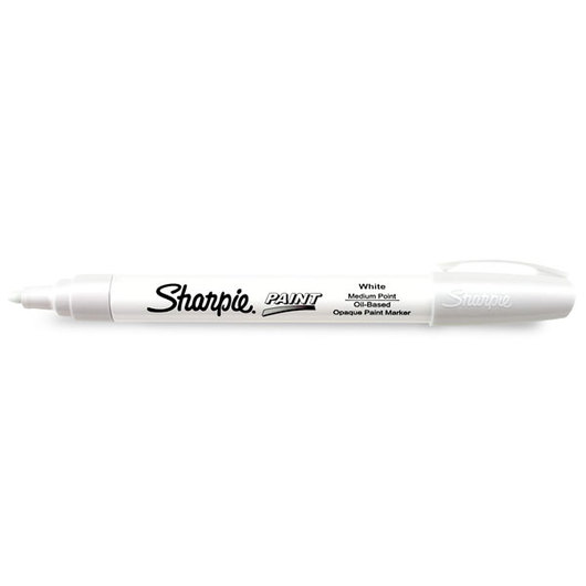 Sharpie Medium Point Oil Based Paint Marker White