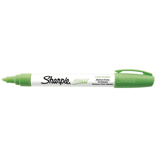 Sharpie® Medium Point Oil-Based Paint Marker - Lime Green