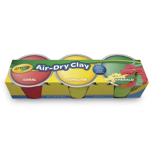 Crayola® Air-Dry Clay - Set of 3