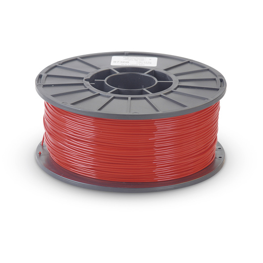 2.88 mm PLA Filament for 3D Printers - Red