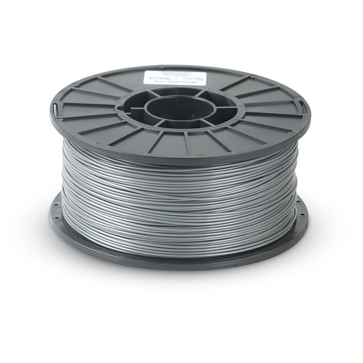2.88 mm PLA Filament for 3D Printers - Silver