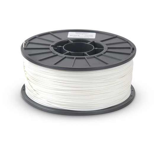 3 mm ABS Filament for 3D Printers - White