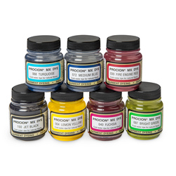 Jacquard Procion MX Fiber Reactive Dye Set of 7