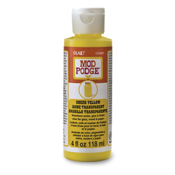Mod Podge® Sheer Colors - 4 oz. - Yellow