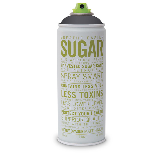 Sugar® Professional Artists' Acrylic Aerosol Paint - 400 ml - Liquorice