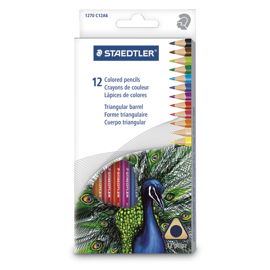 STAEDTLER® Colored Pencils - Set of 12