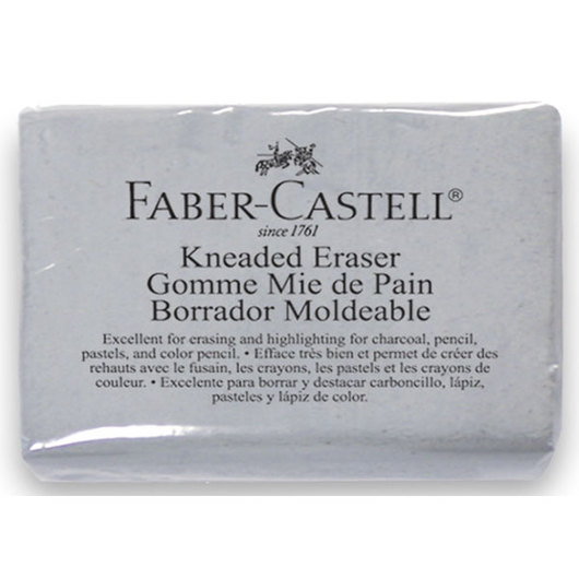 Faber-Castell® Gray Kneaded Large Eraser - Box of 12