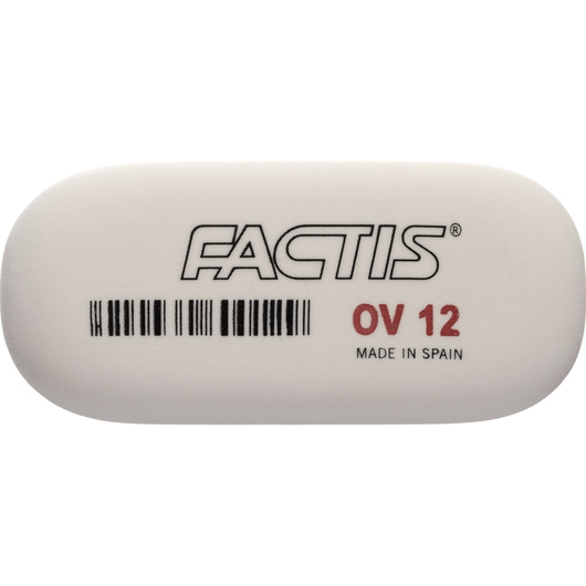 General's® Factis® Individual Soft Oval Standard Eraser