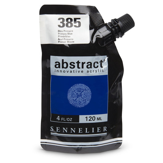 Sennelier abstract® Acrylics - Satin Colors - 120 ml - Primary Blue