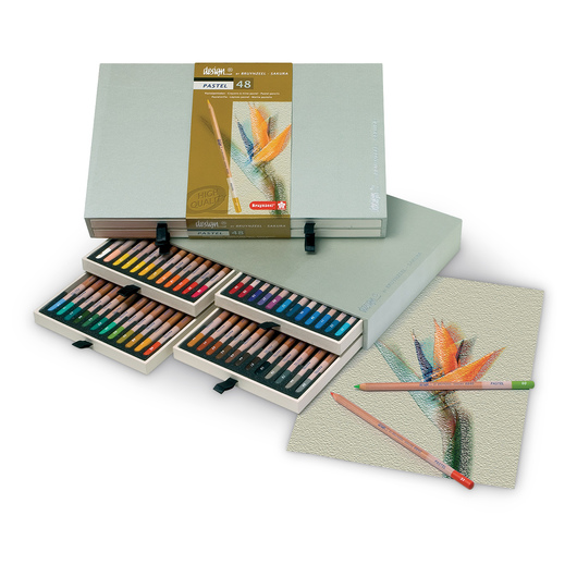 Bruynzeel-Sakura® Design® Pastel Pencils - Set of 48