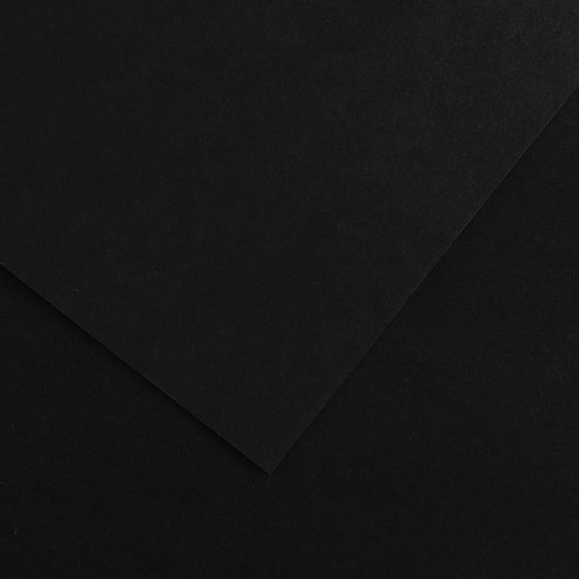 Canson® Colorline® Drawing Paper - 19 in. x 25 in. - 300 g - Black