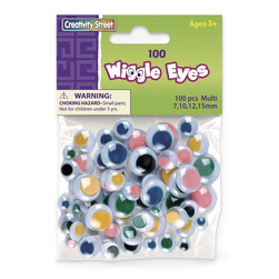 Pacon® Wiggle Eye Assortment - Pkg. of 100