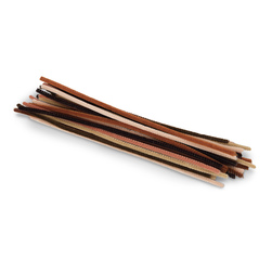 Pacon® Jumbo Multicultural Chenille Stems - Pkg. of 100 - 12 in.