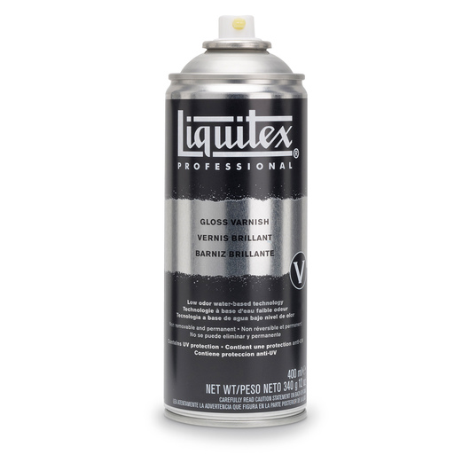 Liquitex® Spray Varnish - 12 oz. (400 ml), Gloss