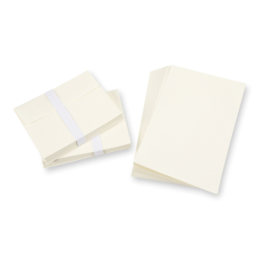 Blank Cards and Envelopes - Ivory - Pkg. of 50 Cards and Envelopes - 4-1/4 in. x 5-1/2 in.