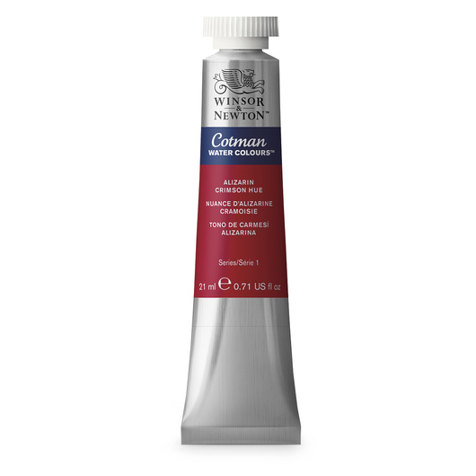 Winsor & Newton™ Cotman Watercolor - 0.71 oz. (21 ml) - Alizarin Crimson Hue