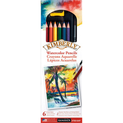 General's® Kimberly® Watercolor Drawing Pencils - Set of 6