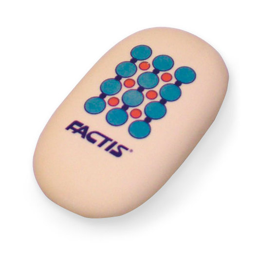 General's® Factis® Individual Soft Oval Jumbo Eraser