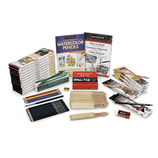 General's® Ultimate Mixed Media Classroom Art Pack