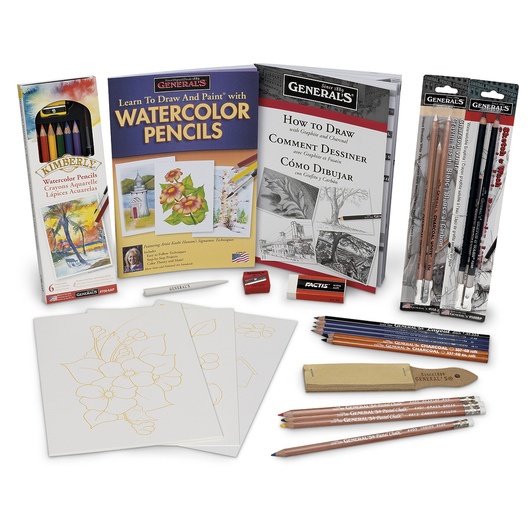 General's® Art Class Mixed Media Resource Pack