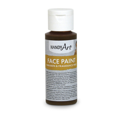 Handy Art® Face Paint - 2-oz. Bottle - Brown