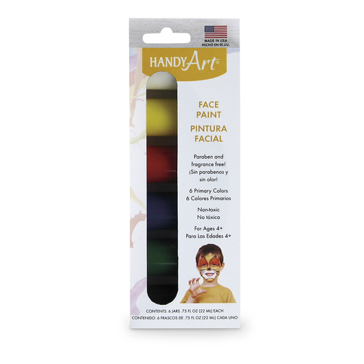 Handy Art® Face Paint - Set of 6
