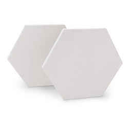 Masterpiece Hexagon Cotton Canvas - 10 in.