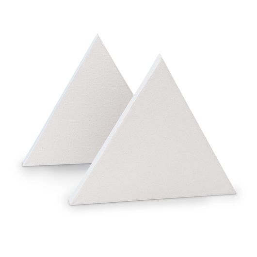 Masterpiece® Geometric Cotton Canvas - Triangle - 10 in. - Pkg. of 2