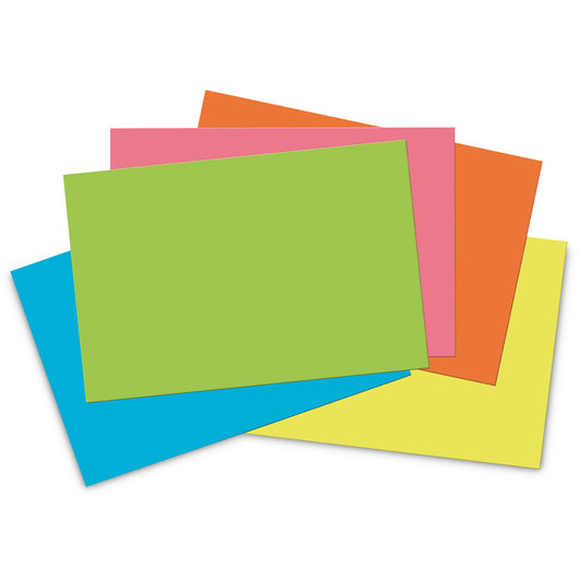 Pacon® Tru-Ray® Sulphite Construction Paper - 76 lb. - 50 Sheets - 12 in. x 18 in. - Hot Fluorescent Assortment