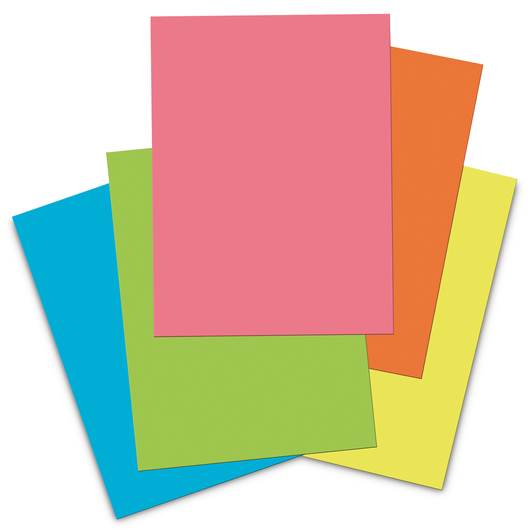Pacon® Tru-Ray® Sulphite Construction Paper Pad - 76 lb. - 40 Sheets - 9 in. x 12 in.
