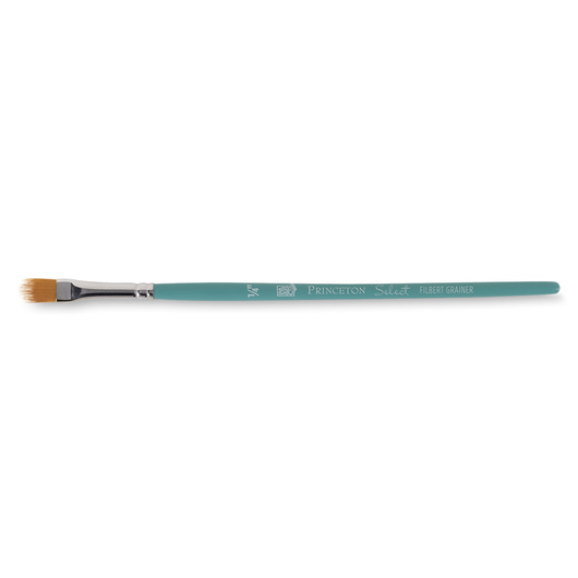 Princeton Select™ Artiste Brush with Golden Taklon Hair - Size 1/4 in. Filbert Grainer