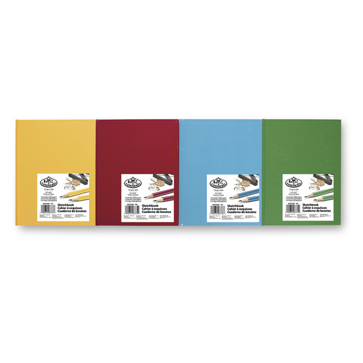 Royal® Sketchbook 8-Pack - 110 Sheets - 65 lb. - 5-1/2 in. x 8-1/2 in. - Fashion Colors