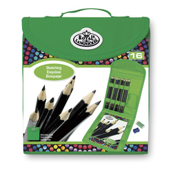 Royal Brush® Keep N Carry Square Art Set - Sketching