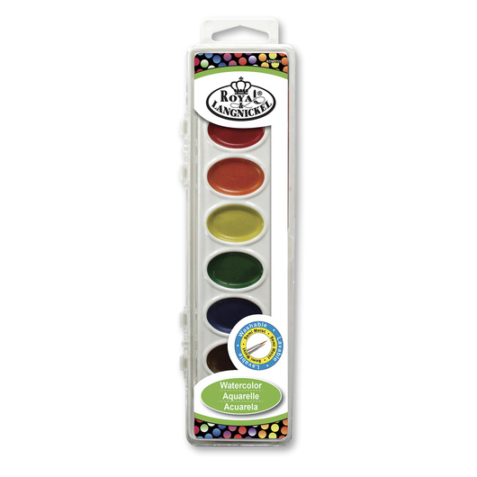 Royal Brush® Watercolor Cakes - Set of 8