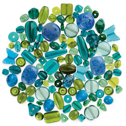 Bead Collections - Greens - 1 lb.